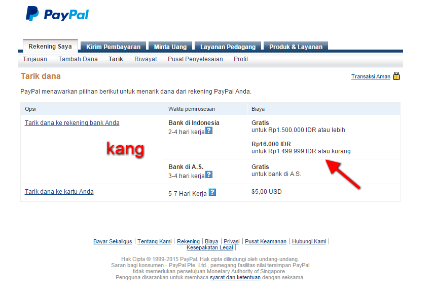 Konversi Dollar ke Rupiah Via Paypal  8d80ffd915