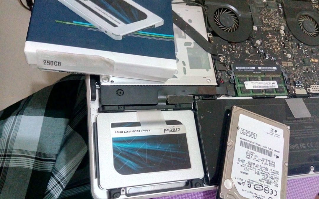Mengganti HDD to SSD pada Mac