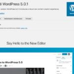 Menjajal WordPress 5.0 dan Gutenberg